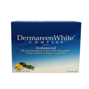 ENHANCED DERMAREEN WHITE COMPLEX 8000 VALUE PACK 8g x 10 SACHETS